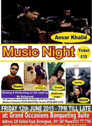 Musical Qwali Night